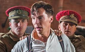 Cumberbatch as Alan Turing