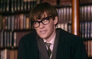 Smart is sexy: Eddie Redmayne makes an example of himself