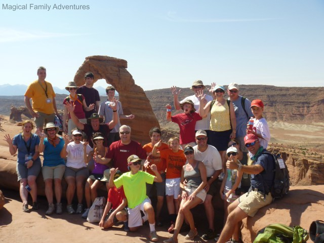 delicate arch group