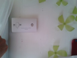 Cardon Monoxide Detector installed