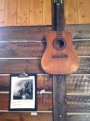 Music and photography are a major part of the decor and atmosphere.