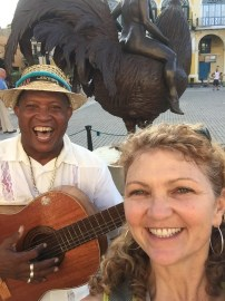 Me with a Cuban musician