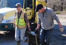 mill river trash clean up