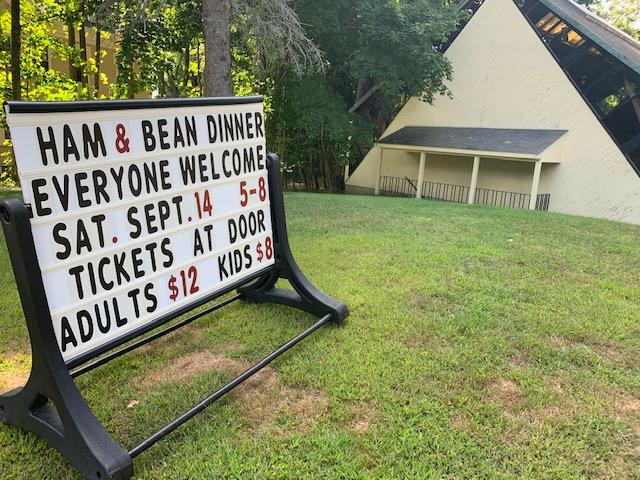 Ham and bean supper set for Sept. 14