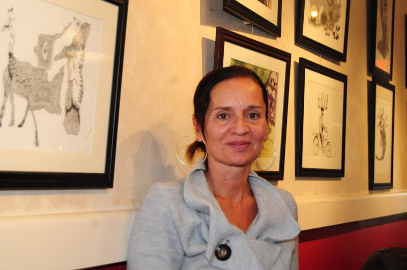 Dormant talent reemerges in artist's debut exhibit at Zumi's