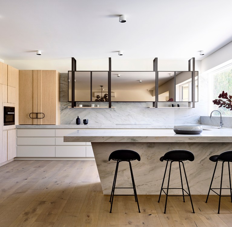 Doherty Design Studio - Local Kitchen Timber Cupboards - Ivanhoe Residence - Interior Design Archive