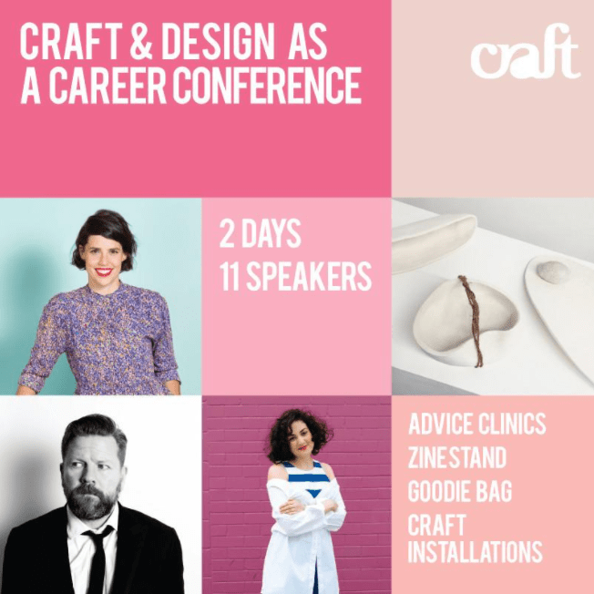 CRAFT CUBED: CRAFT AND DESIGN AS A CAREER