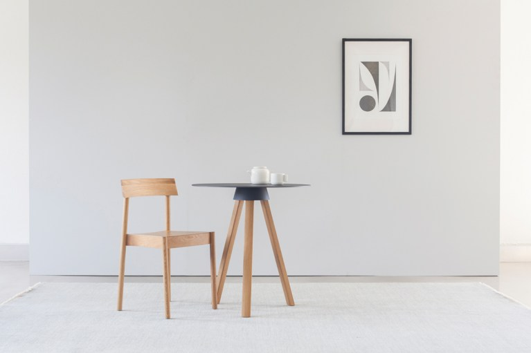 Local Furniture Design – Skirt Table And Shuttle Stool By Nomi 5