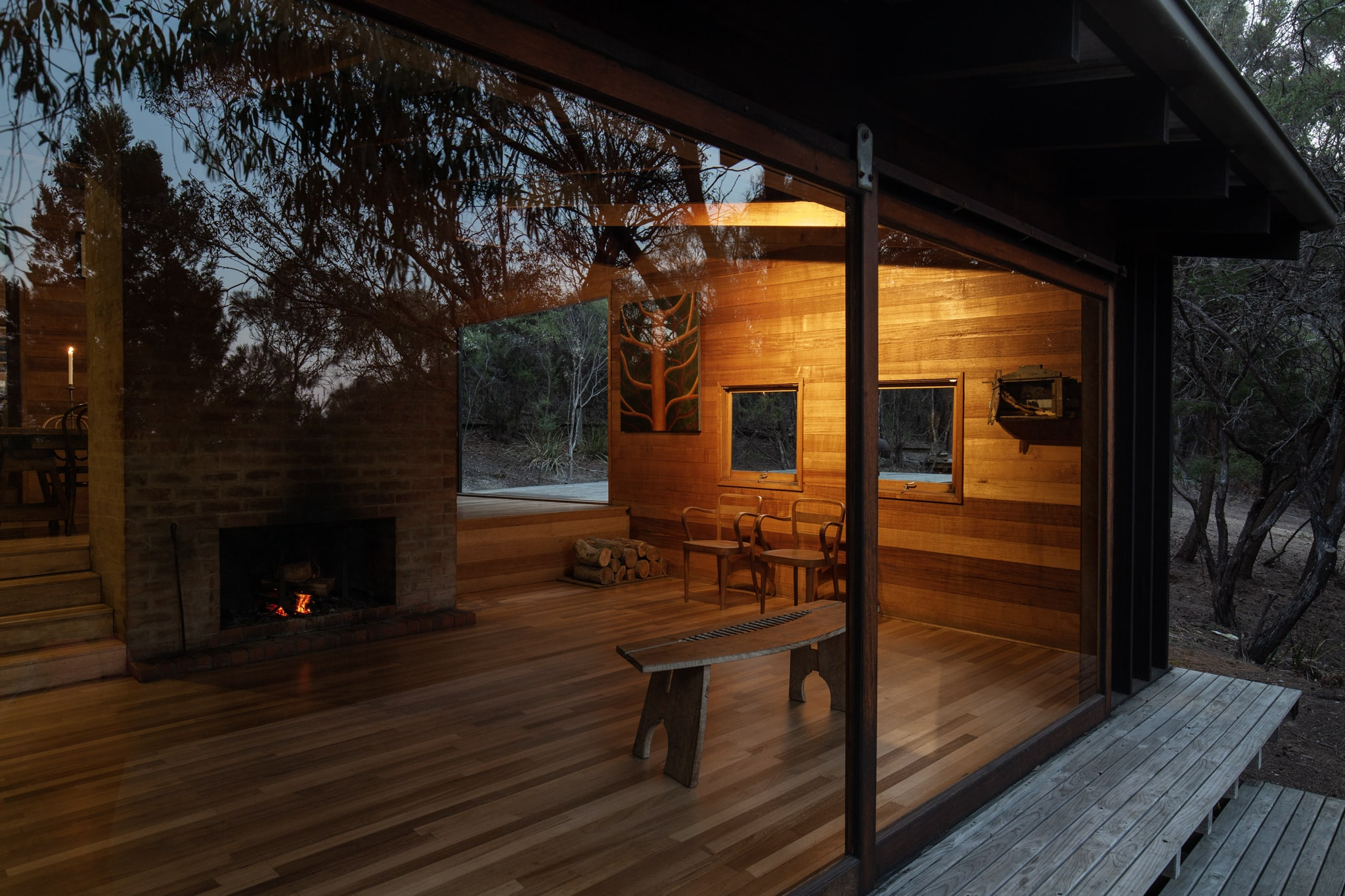 Ken And Then Business Partner Joan's Design Of Friendly Beaches Lodge Was At The Forefront Of Holistically Sustainable Ar