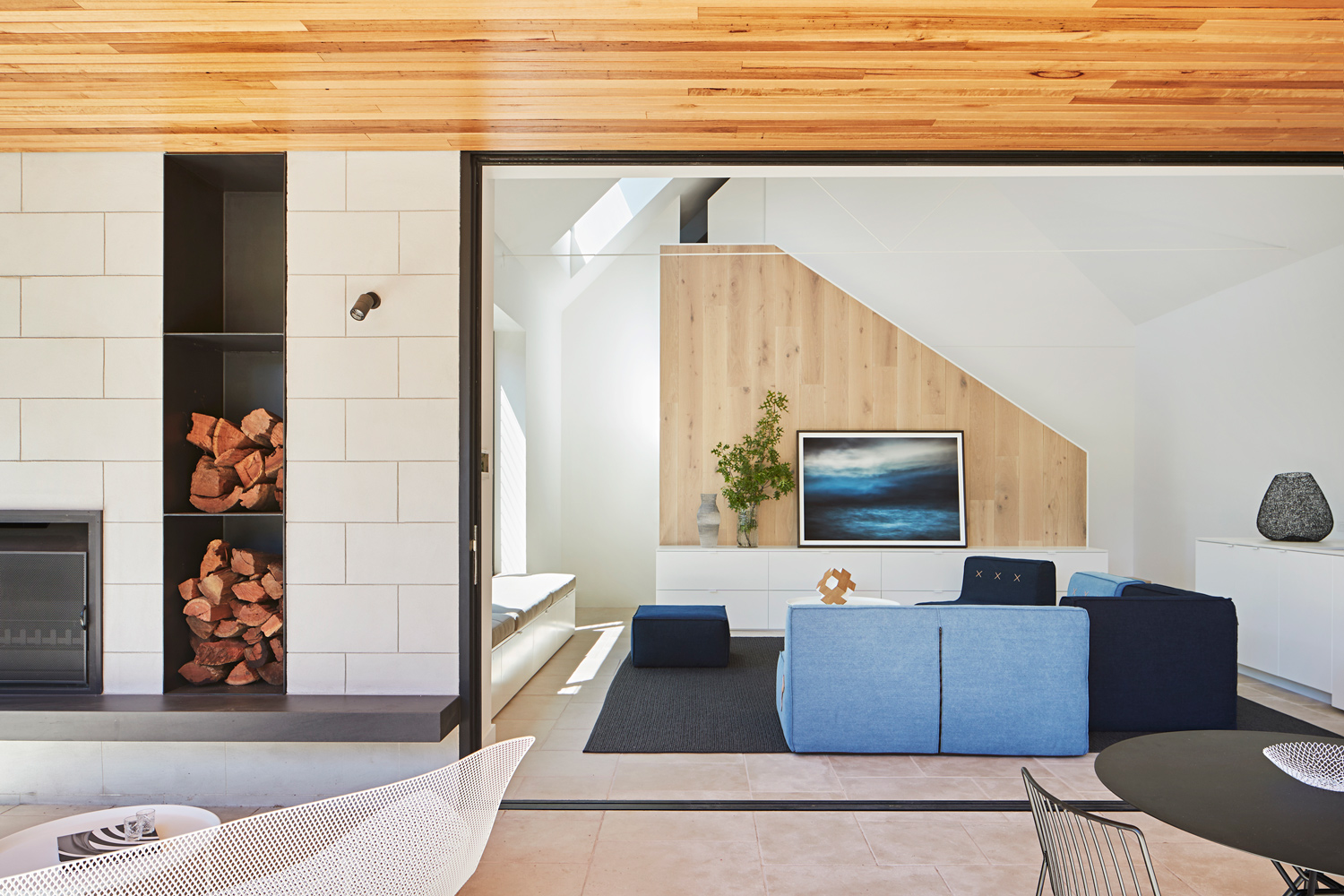 The Pavilion House Is Defined By A Very Particular Composition