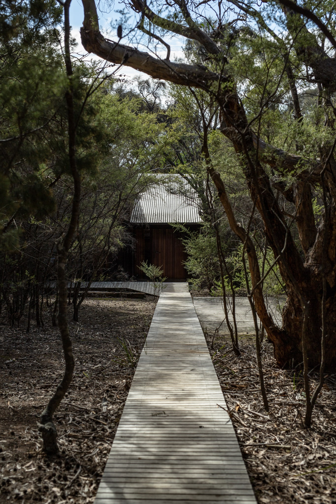 A Closeness To Nature With Minimal Interventions To The Site's Ecology.