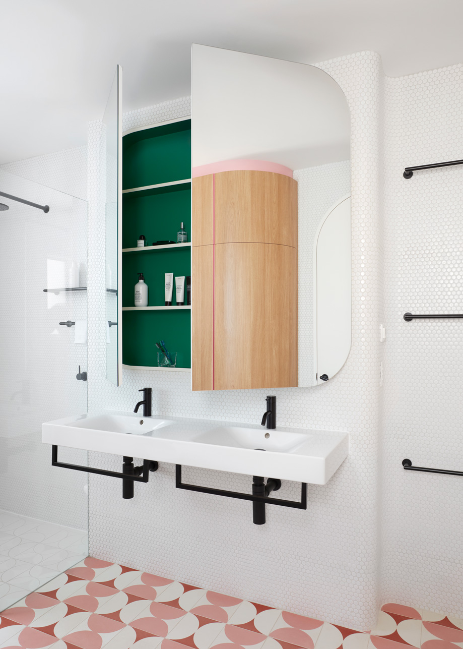 A New Bathroom, Powder Room And Complex Study Joinery Are Conceived As Works Of Art In Themselves