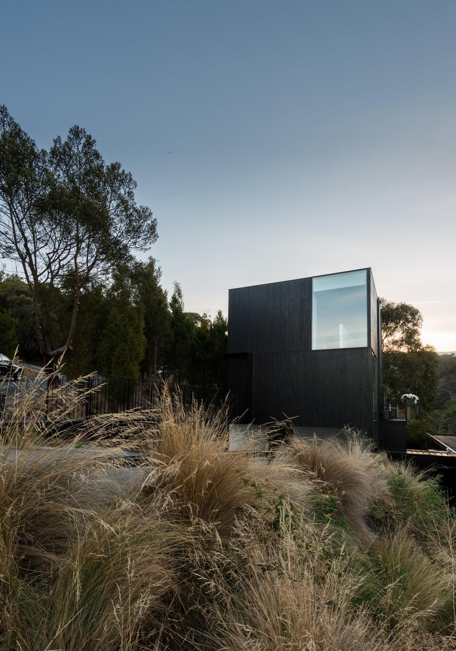 With Sweeping Uninterrupted Views Over The Existing Residence To The Landscape Beyond.
