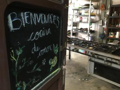 Cuisine de La Casa de Les Ningunes à La Paz