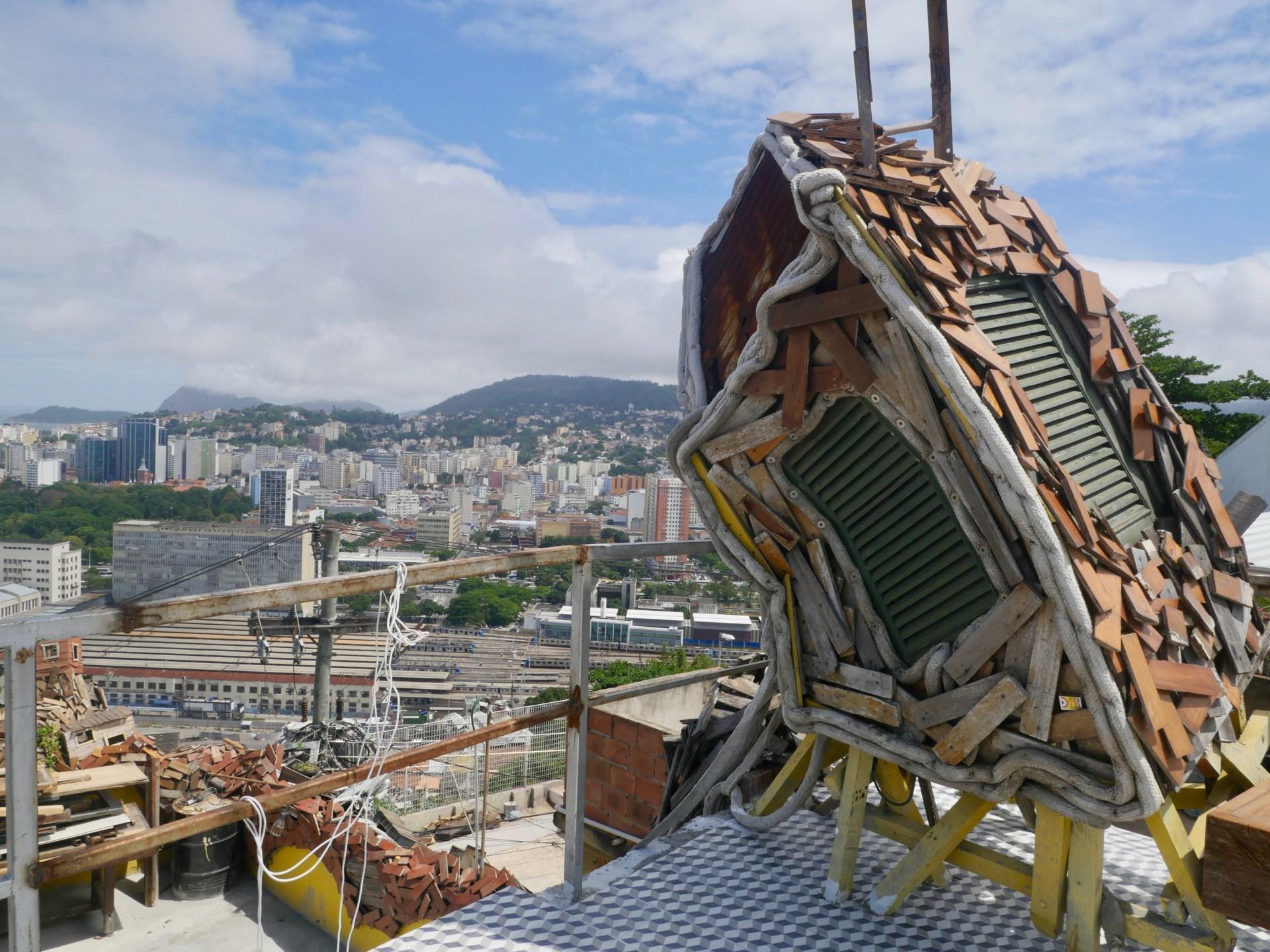 Toit de la Casa à Morro do Providencia