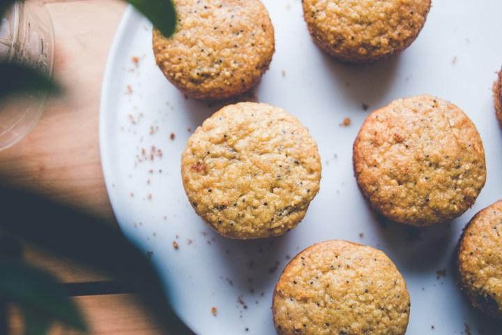 Mango Poppy Seed Muffins