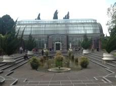 The Wintergarden courtyard