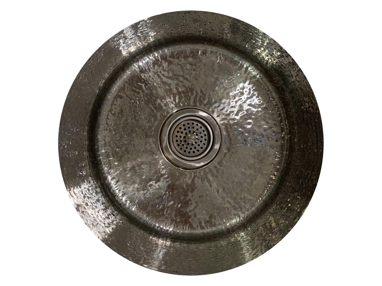 elkay hammered stainless steel bar sink