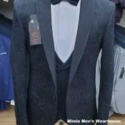 Black Men's Tuxedo Slim Fit