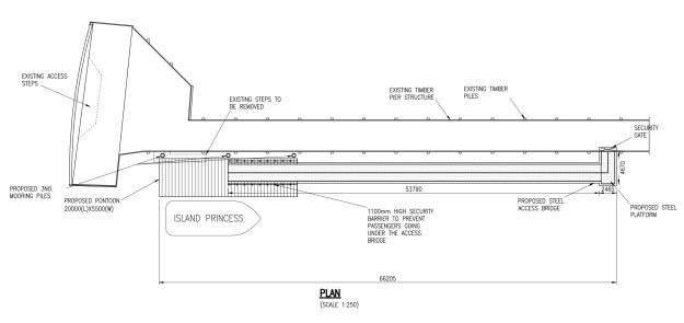 An option for pontoons at Kilcreggan
