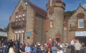 Weather was perfect for the event at Cove Burgh Hall. Picture by Richard Reeve
