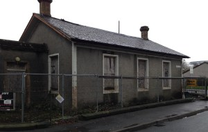 Derelict - the former community centre