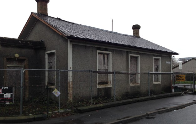 Derelict - the former school in Rosneath.