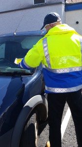 Brought to book: Council wardens will soon be fining drivers.