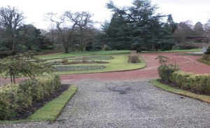 Ready for a new look - the park at present
