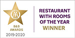 2019-20 AA Restaurant with Rooms of the Year