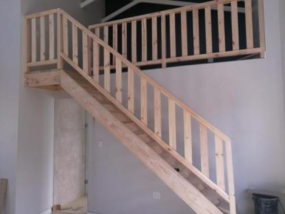Stair case and Balustrade