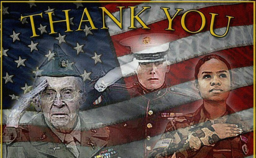 A Memorial Day Note of Appreciation to All Veterans & Their Families