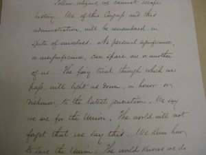 Fiery Trial Portion of Lincoln's Second Annual Message to Congress 1862