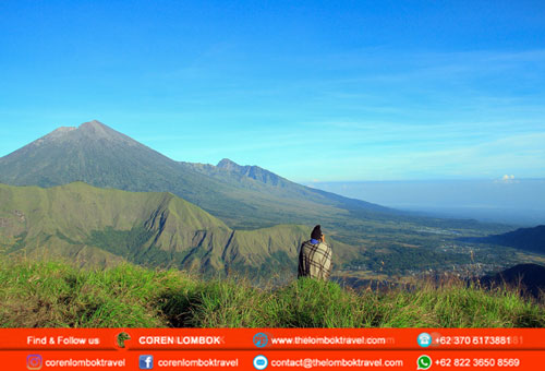 2 Days 1 Night Rinjani Trekking To Senaru Crater Rim Package