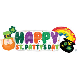 pot of gold St Patrick's day balloon