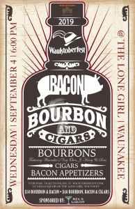 Bacon Bourbon Cigars