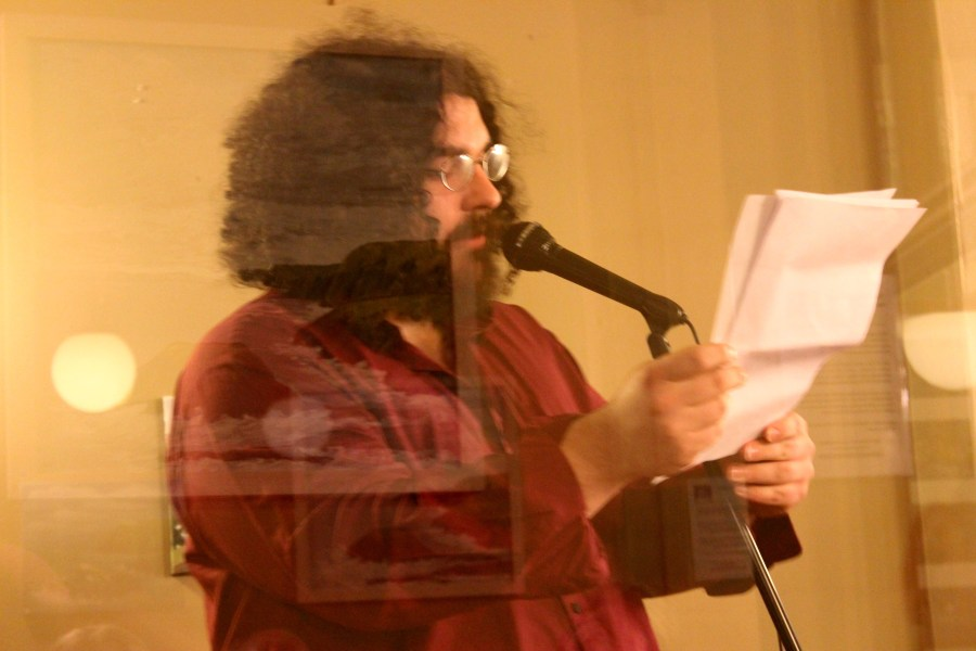 Chris Cornwell reading two new poems from our forthcoming third issue.