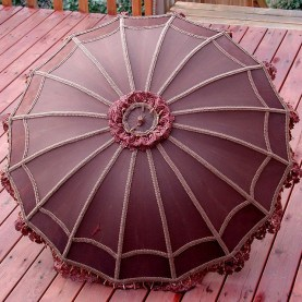 marsala umbrella