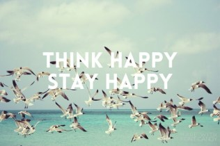 think happy quote