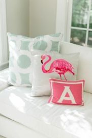 Flamingo pillow cushion