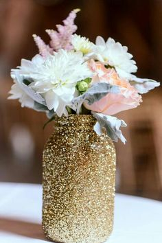 glitter-jar-flowers
