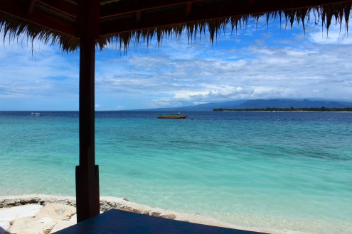 The best view on Gili Meno