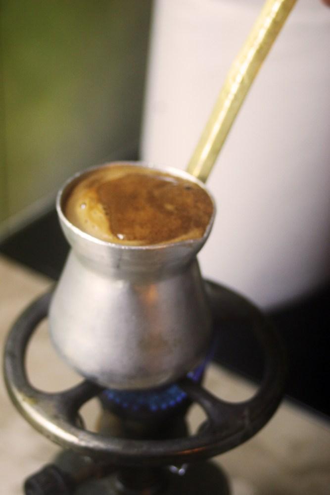 Greek coffee. Step-by-step instruction. (5/6)