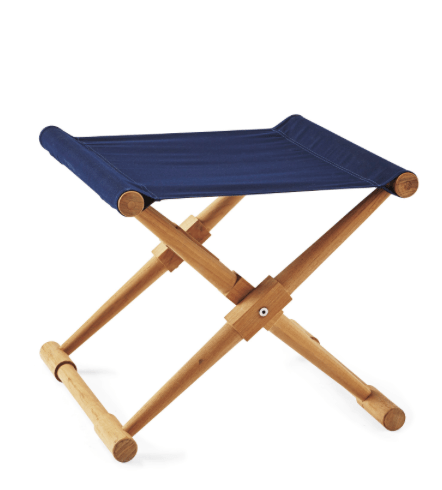 Camp Stool from Serena & Lily, $225.00