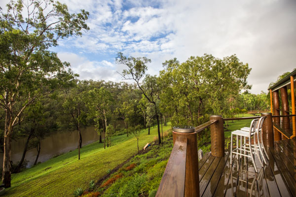 water views, river, canoeing, Luxury, privacy, seclusion, The Long Weekend retreat