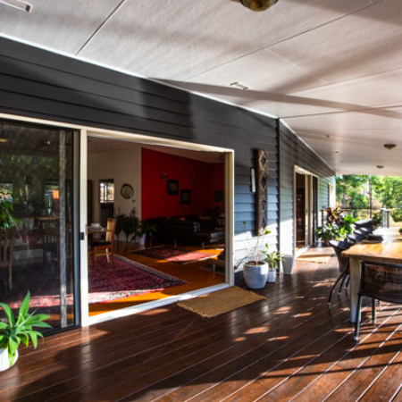 dining, privacy, luxury, The Long Weekend Retreat, Atherton Tablelands