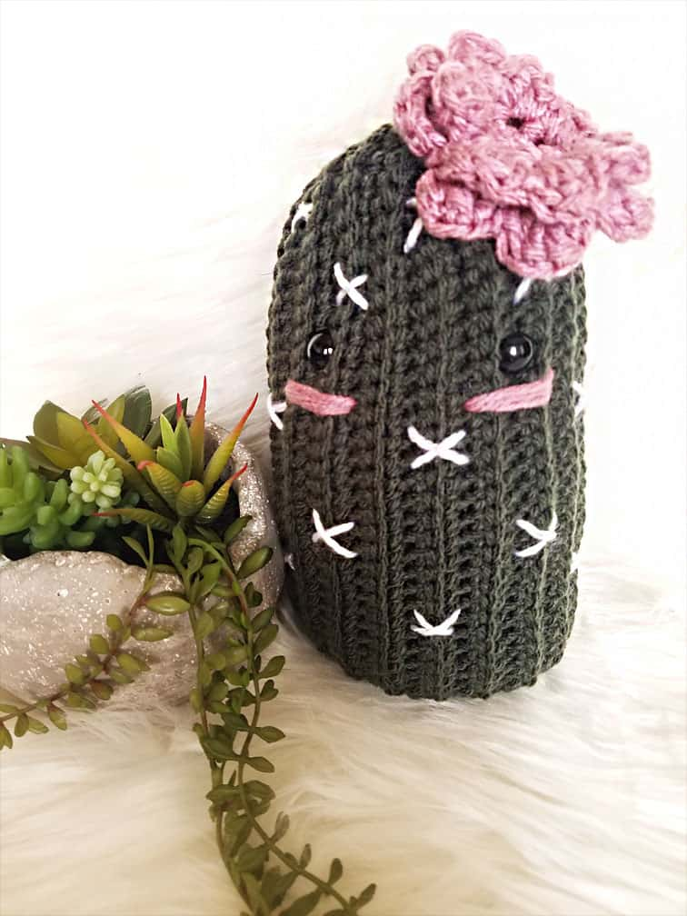 Cali the Crochet Cactus by The Loophole Fox