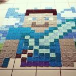 Crochet Minecraft Blanket Pattern The Loopy Stitch