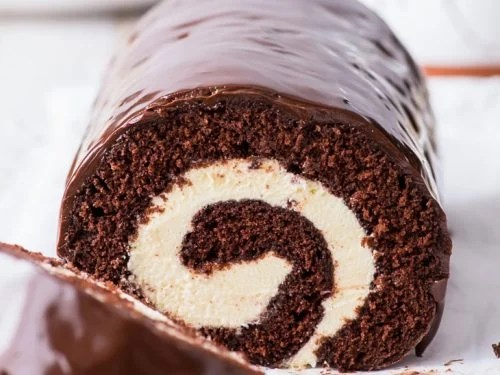 Chocolate Swiss Roll - The Loopy Whisk