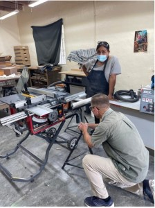 learning to use a table saw